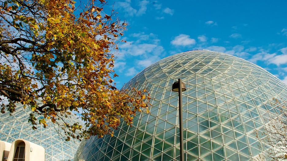 Mitchell Park Horticultural Conservatory In Milwaukee