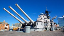 USS Wisconsin BB-64 - Norfolk