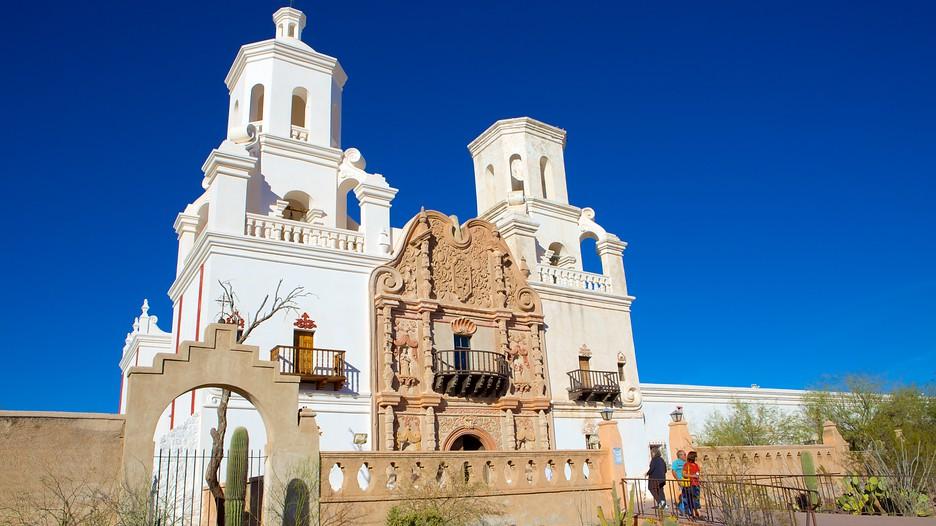 Mission San Xavier Del Bac In Tucson Arizona Expedia Ca