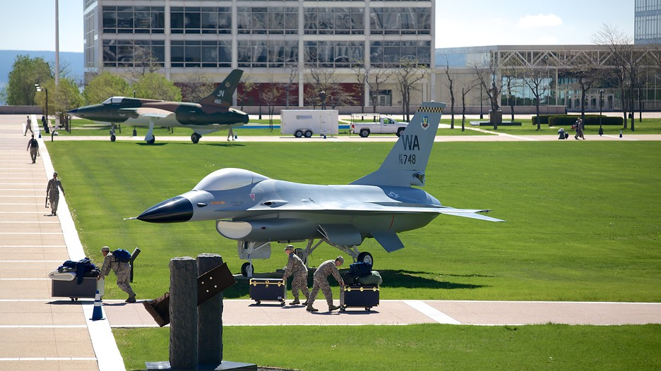 Planning to join the air force academy....?