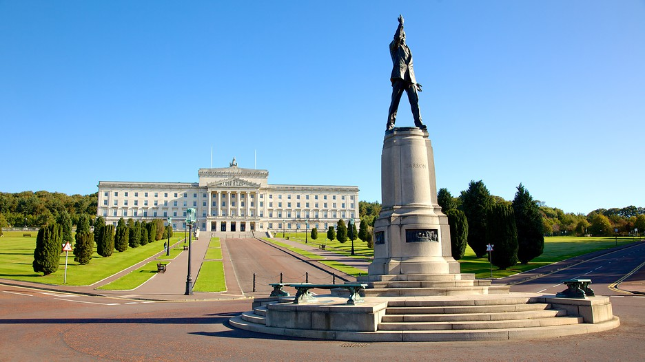 Stormont Parliament Buildings In Belfast Northern Ireland
