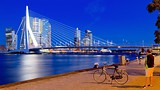 Erasmus Bridge - Europe - Tourism Media