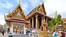 Temple of the Emerald Buddha - Bangkok (med omnejd)