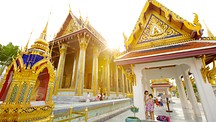 エメラルド仏寺院(ワットプラケオ) - バンコク