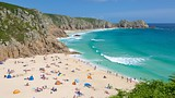 Porthcurno Beach - England - Tourism Media
