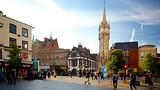 Haymarket Memorial Clock Tower - Leicestershire - Tourism Media