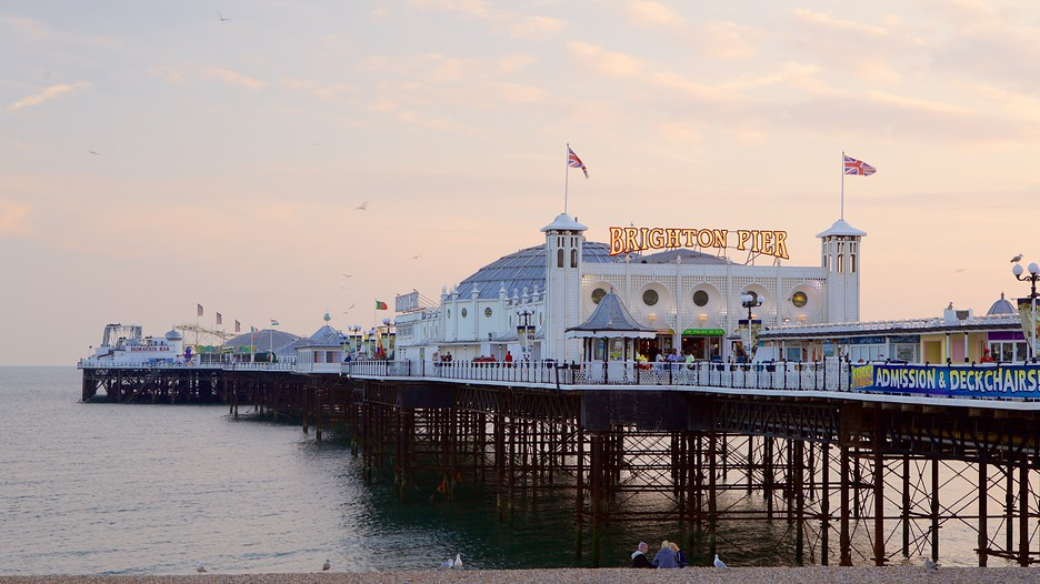 Brighton Pier In Brighton England