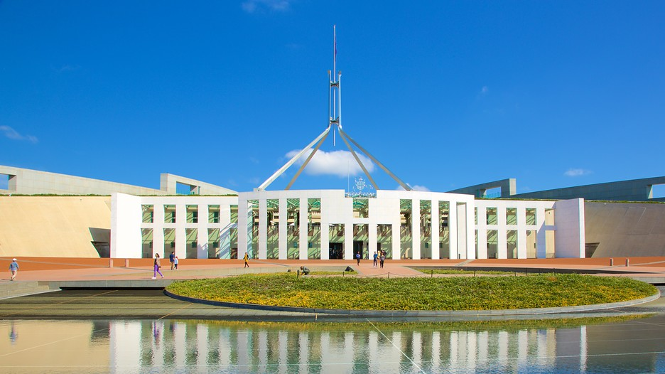 Parliament House In Canberra Australian Capital Territory Expedia