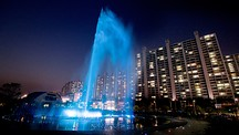 Dadaepo Sunset Fountain of Dream - Busan