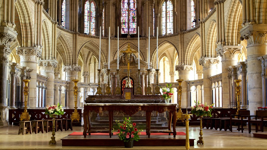 St remi basilica in reims grand est - Basilique st remi reims ...