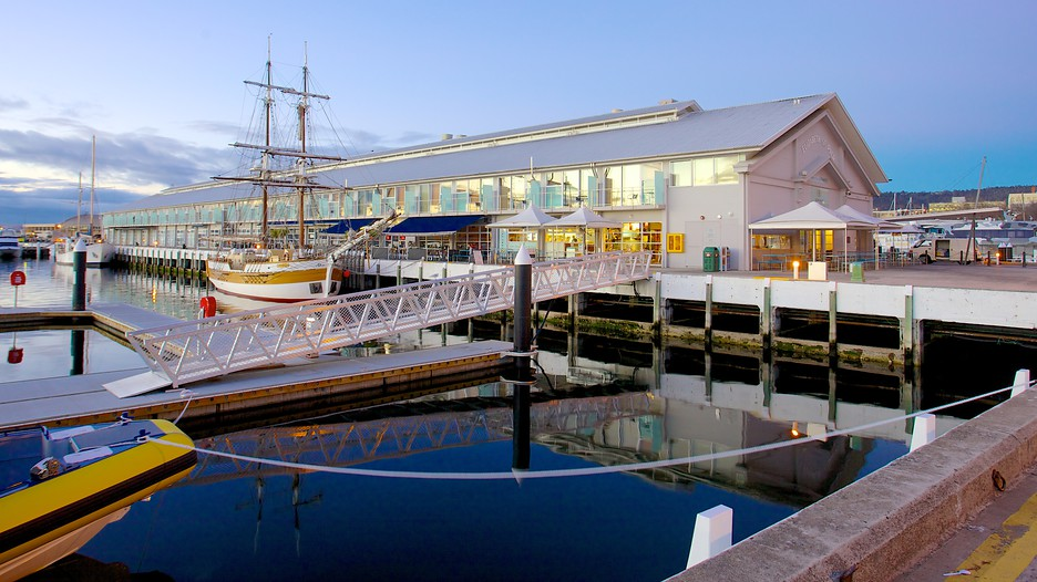 Constitution Dock, Hobart, Tasmania, Australia Stock Photo ...  |Constitution Dock Hobart