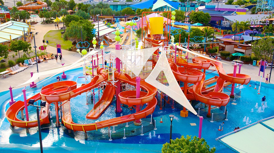 Whitewater world coomera queensland attraction for Splash pool show gold coast
