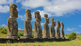 Ahu Akivi - Easter Island - Tourism Media