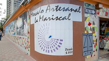 La Mariscal Craft Market - Quito