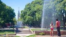 Independence Square - Mendoza Wine Region