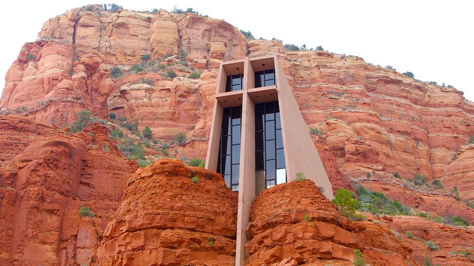 Chapel of the holy cross in sedona arizona for Sedona architects