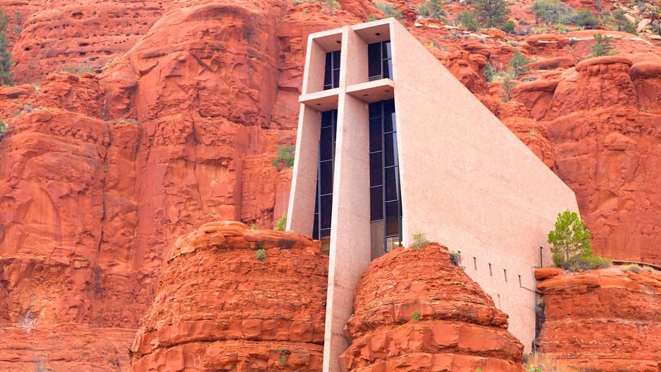 Chapel of the holy cross in sedona arizona expedia for Sedona architects