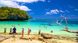Showing item 76 of 89. Kanumera Beach - New Caledonia - Tourism Media
