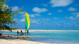 Showing item 85 of 90. Ootu Beach - Cook Islands - Tourism Media