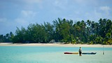 Showing item 53 of 90. Ootu Beach - Cook Islands - Tourism Media