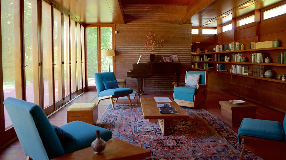 Frank Lloyd Wright Rosenbaum House In Florence Alabama