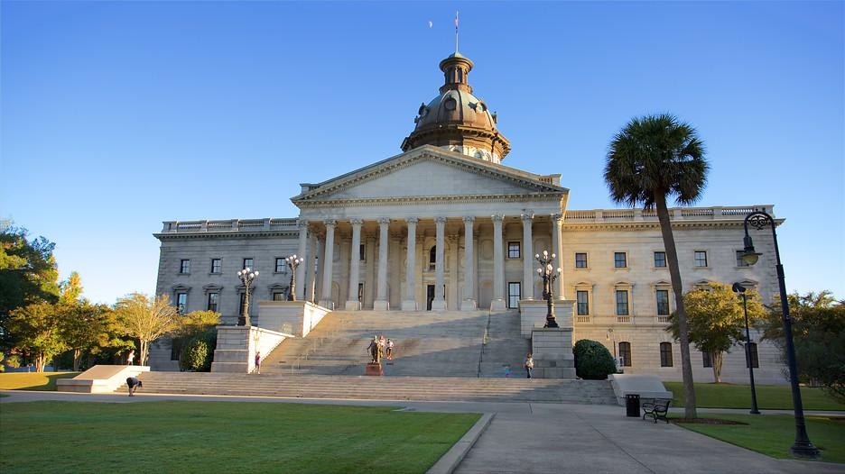 South Carolina State House In Columbia South Carolina