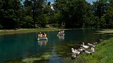 Mammoth Spring - Hardy - Photo Courtesy Arkansas Department of Parks and Tourism
