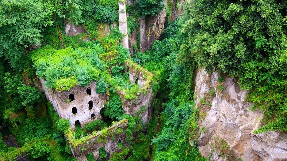 Valle de los Molinos en Sorrento, Italia