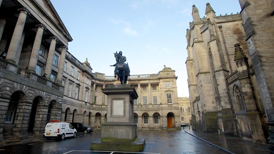 Parliament House In Edinburgh Scotland