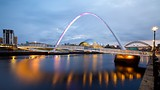 Gateshead Millennium Bridge - Newcastle-upon-Tyne - Tourism Media