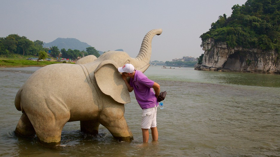 Elephant Trunk Hill In Guilin