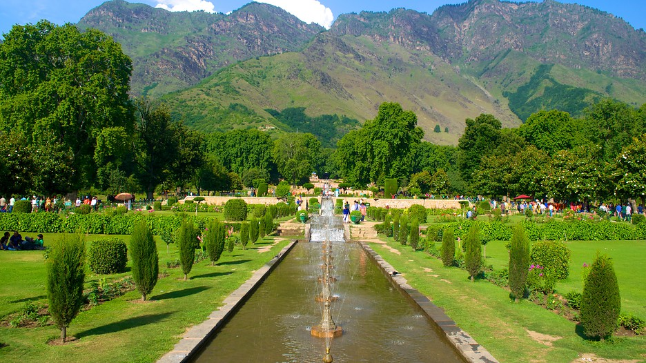 Srinagar vacation packages june 2017 book srinagar trips Mughal garden booking