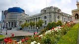 Showing item 37 of 78. New Zealand Parliament Buildings - Wellington - Tourism Media