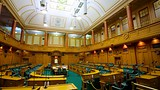 Showing item 15 of 78. New Zealand Parliament Buildings - Wellington - Tourism Media