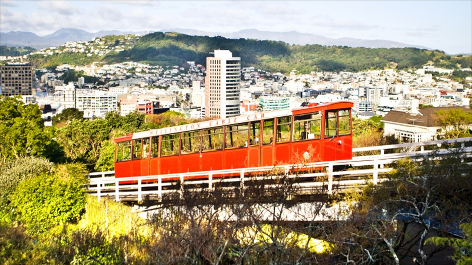 Wellington Cable Car: Wellington Cable Car In Wellington,