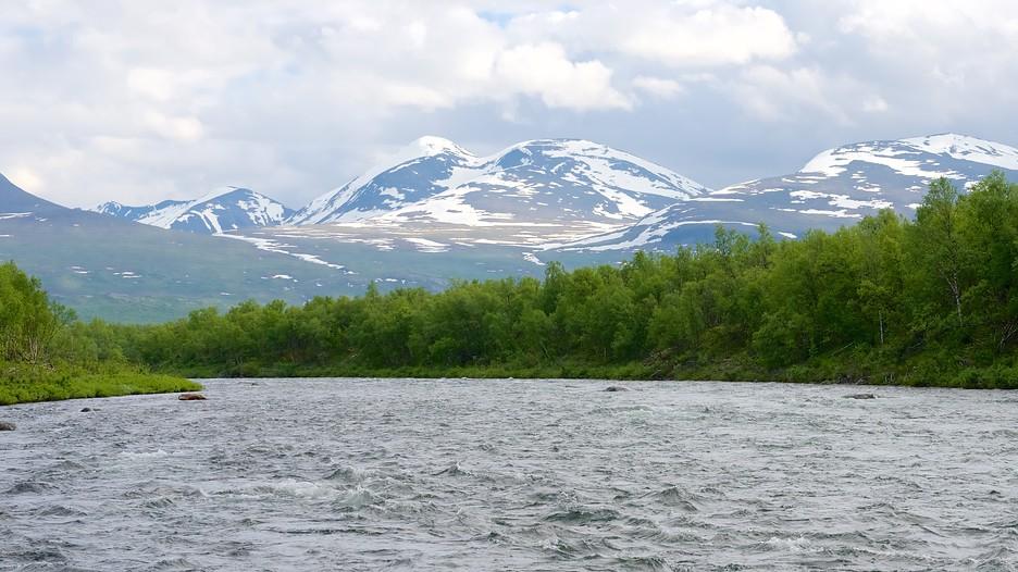 resa som singel Kiruna
