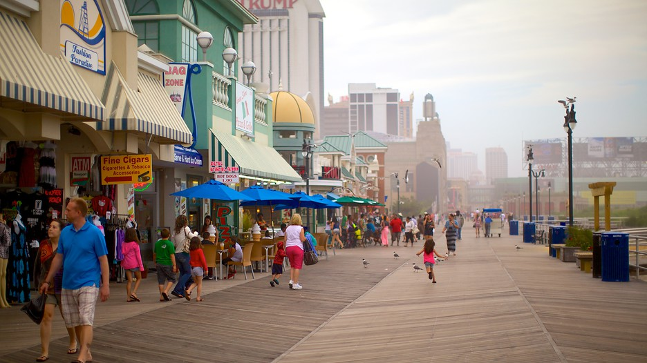 Image result for the atlantic city boardwalk in 2017