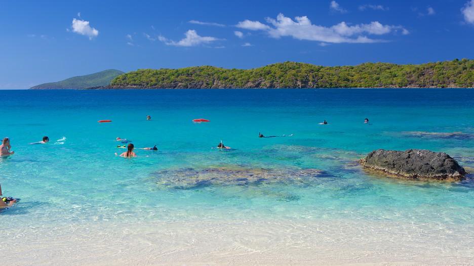 Coki Beach In St Thomas Virgin Islands