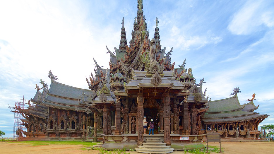 The Sanctuary of Truth in Bang Lamung,  Expedia