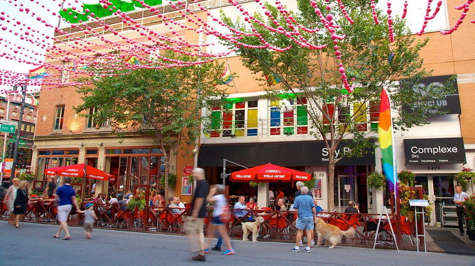 Gay Village Restaurants Montreal