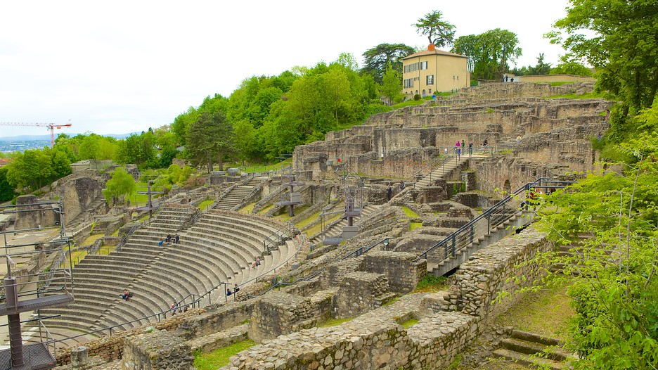 roman theatres of fourviere in lyon expedia. Black Bedroom Furniture Sets. Home Design Ideas