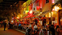 Espanola Way and Washington Avenue - Florida