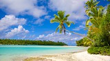 Showing item 86 of 90. One Foot Island Beach - Cook Islands - Tourism Media