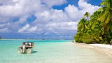 Showing item 87 of 90. One Foot Island Beach - Cook Islands - Tourism Media