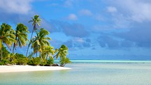 One Foot Island Beach - Cook Islands