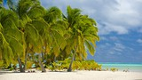 Showing item 19 of 90. One Foot Island Beach - Cook Islands - Tourism Media
