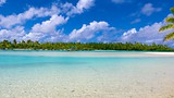 Showing item 28 of 90. One Foot Island Beach - Cook Islands - Tourism Media
