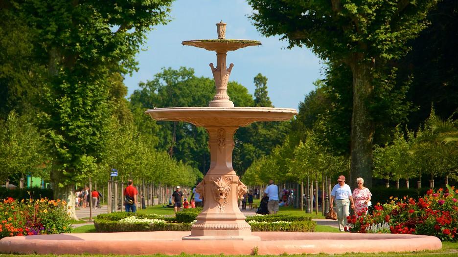 Parc de l 39 orangerie punti di interesse a strasburgo con - Restaurant jardin de l orangerie strasbourg ...