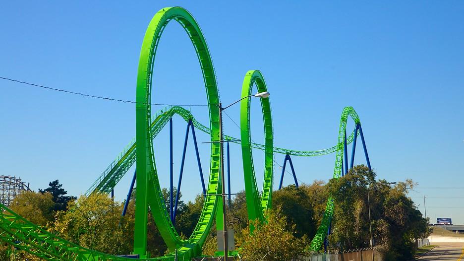Kết quả hình ảnh cho Công viên giải trí Six Flags over Texas