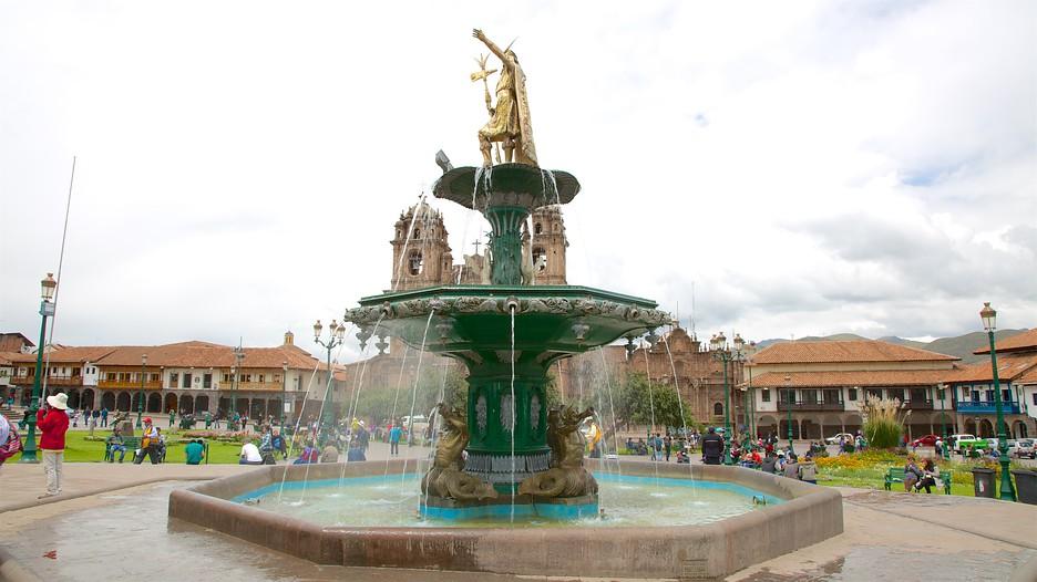 Plaza de armas cusco tourism media